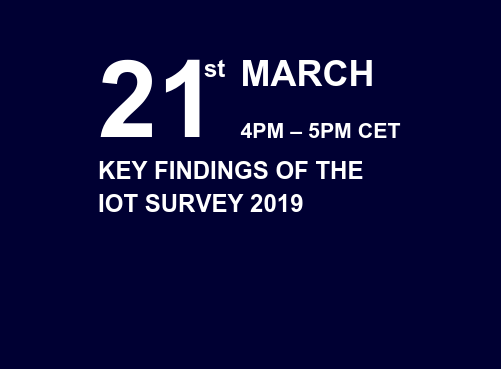 The IoT Survey 2019 Webinar