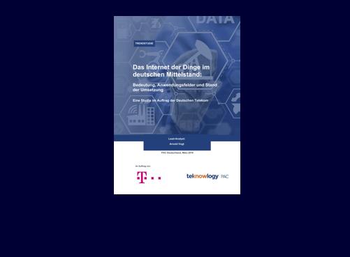 Das Internet der Dinge im deutschen Mittelstand