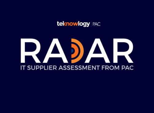 """PAC RADAR """"Führende Anbieter von SAP-Services in Deutschland und der Schweiz"""""""