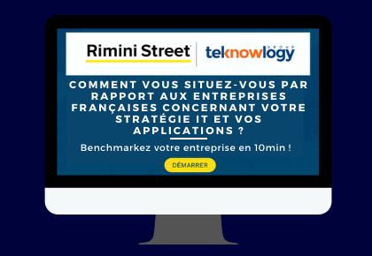 Comment vous situez-vous par rapport aux entreprises françaises concernant votre stratégie IT et vos applications ? Benchmarkez votre société maintenant