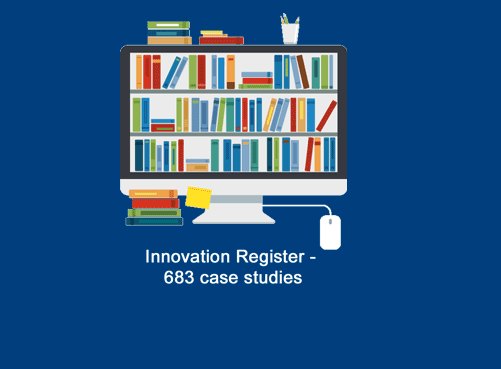 PAC Innovation Register - now 683 case studies online