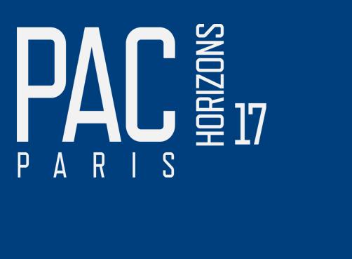 PAC Horizons in Paris - Jan 12, 2017