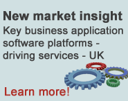 New market insight - Key business application software platforms - UK