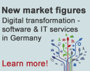 New market figures - Digital transformation - software & IT services in Germany