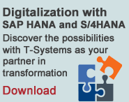 Positioning paper - Digitalization with SAP HANA and S/4HANA