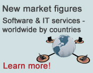 New market figures - Siftware and IT services worldwide by countries