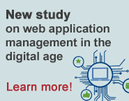 New study on web application management in the digital age