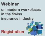Webinar on modern workplaces in the Swiss insurance industry
