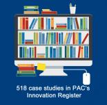 Innovation Register - 518 case studies online!