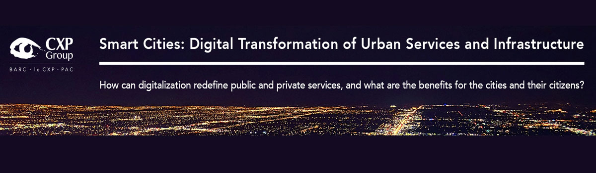 MC: Smart Cities:Digital Transformation of Urban Services and Infrastructure