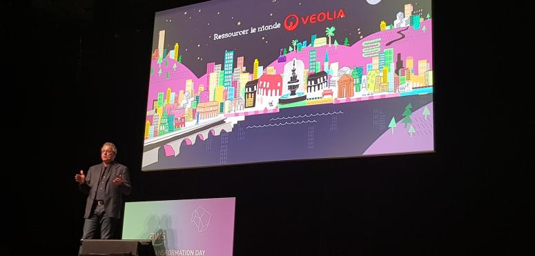 """Veolia et Décathlon optent pour le """"full Cloud"""" chez AWS"""