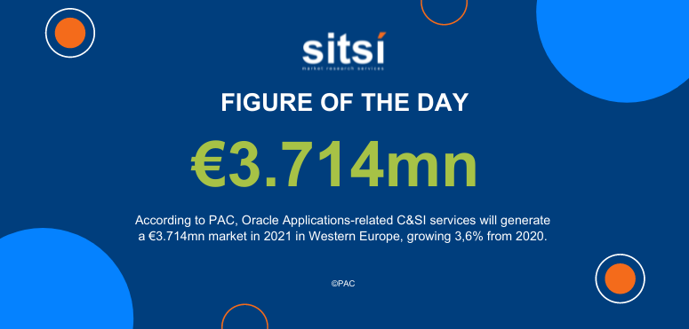 Oracle Applications-related C&SI servicesin Western Europe