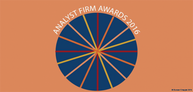 PAC ranks 2nd in Top 10 EMEA Analyst Firm Awards 2016