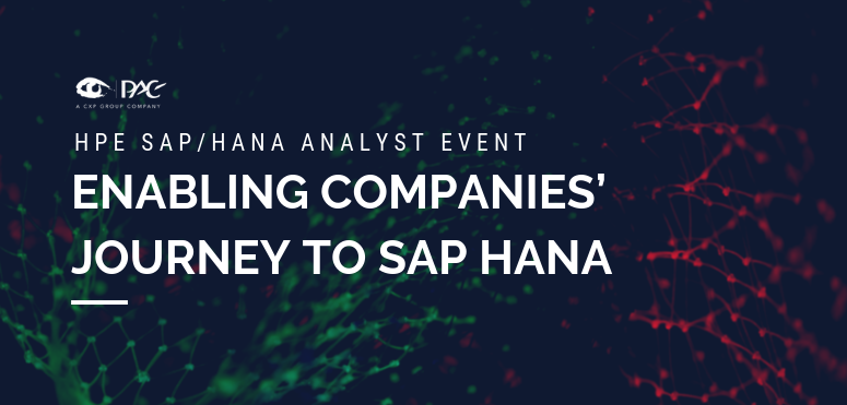 HPE - Enabling companies' journey to SAP HANA