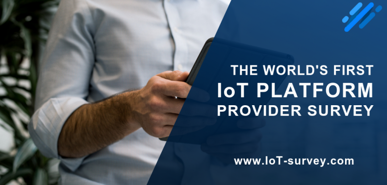 The IoT Survey 2019 gives a voice to IoT platform users
