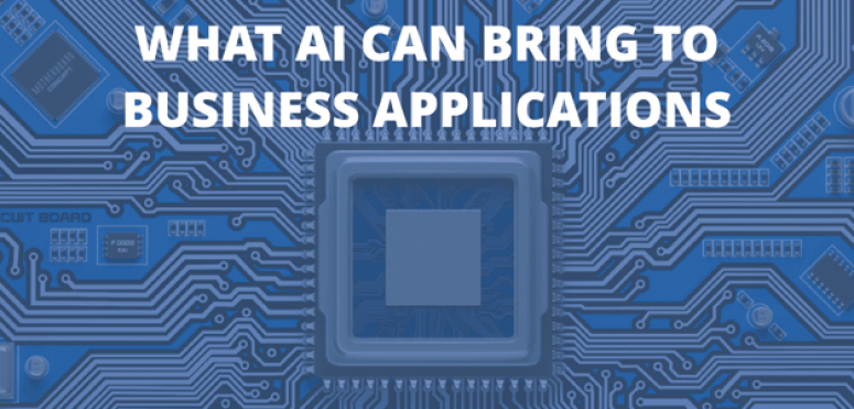 Release of new PAC study: What AI can bring to business applications