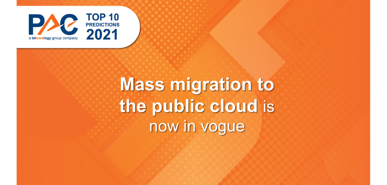 PAC Predictions 2021: Mass migration to the public cloud is now in vogue