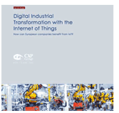 Trend report: Digital industrial transformation with the internet of Things