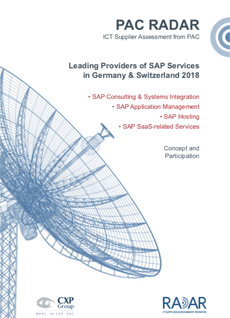 Leading Providers of SAP Services in DE and CH 2018