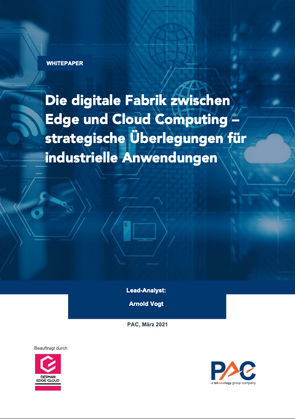 Whitepaper: Die digitale Fabrik zwischen Edge und Cloud Computing – strategische Überlegungen für industrielle Anwendungen