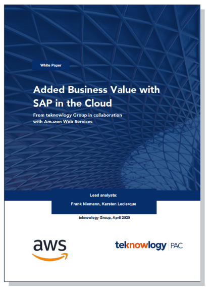 White paper: Added Business Value with SAP in the Cloud