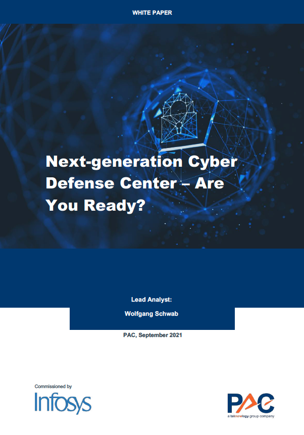 Whitepaper: Next-generation Cyber Defense Center – AreYou Ready?