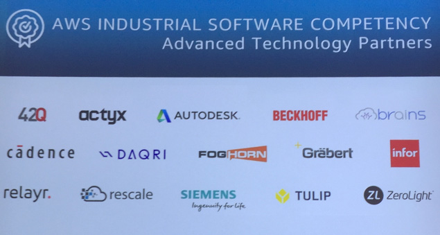 Advanced technology partners-AWS industrial software competency